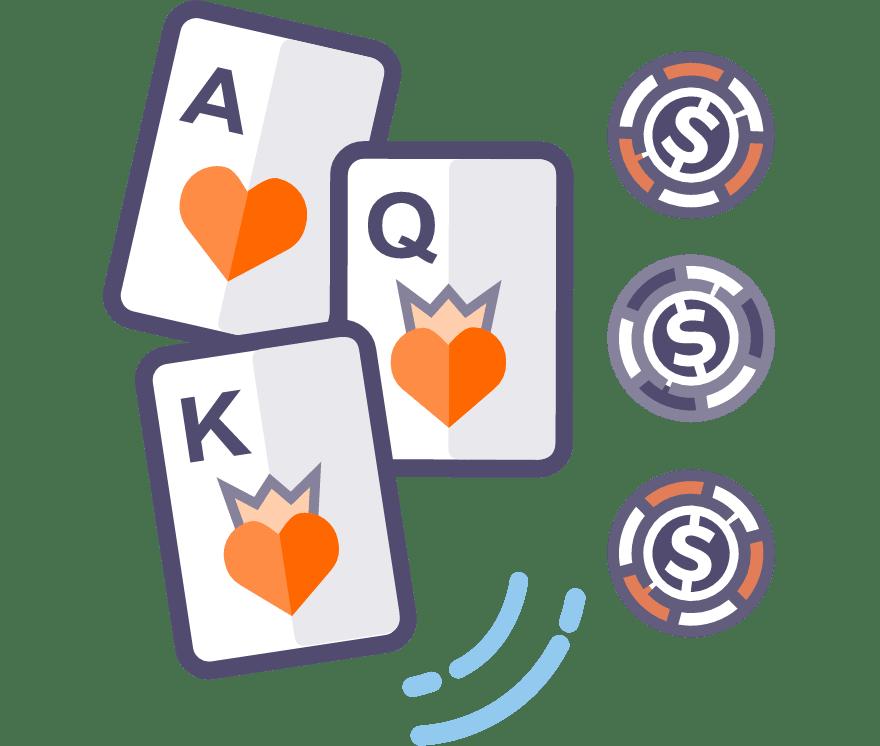 Los 58 mejores sitios de Casino de Póker de tres cartas en línea en Bolivia